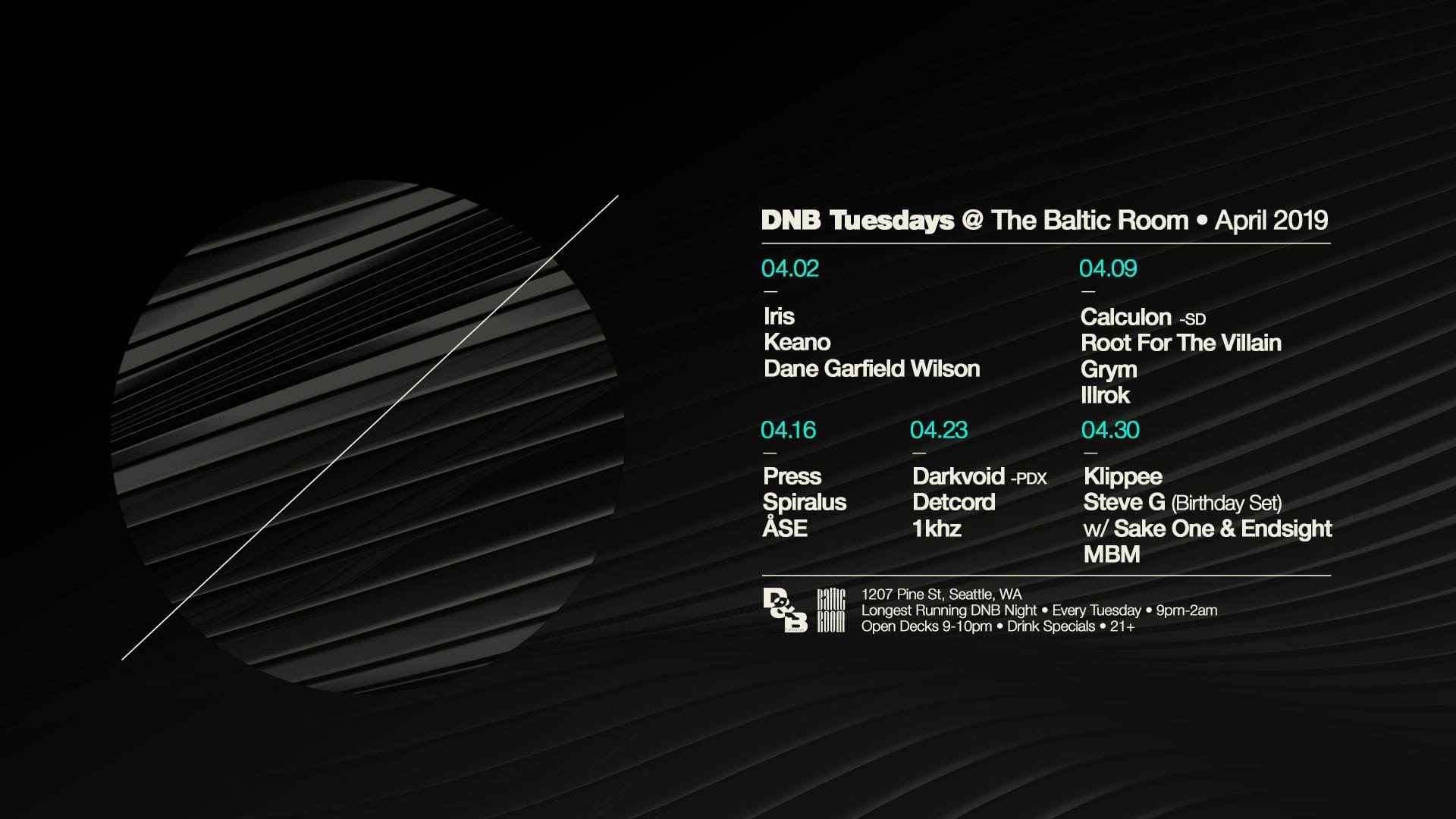 Darvoid at DNB Tuesday's