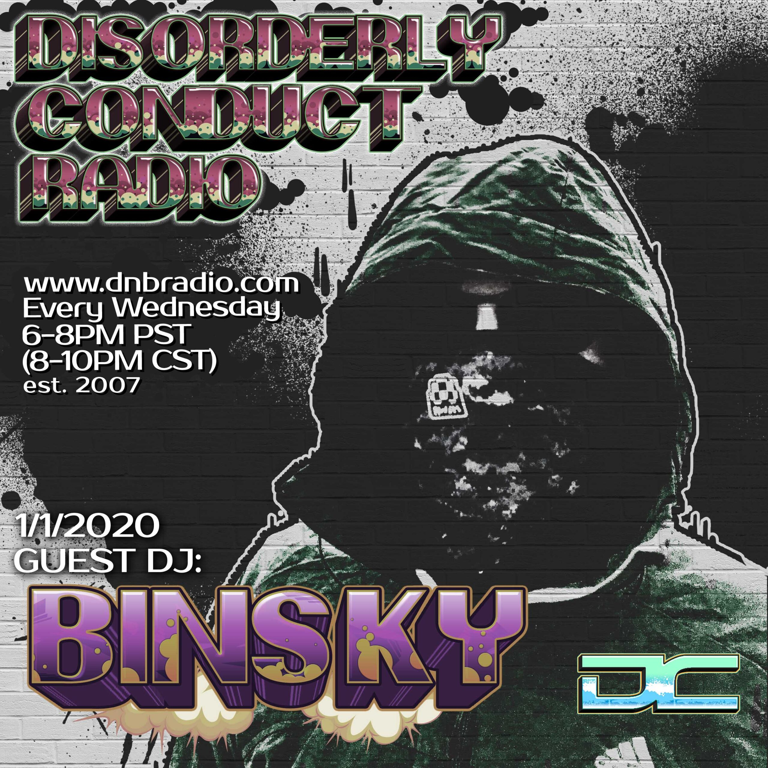 Mr. Solve and Binsky – Disorderly Conduct Radio 111319
